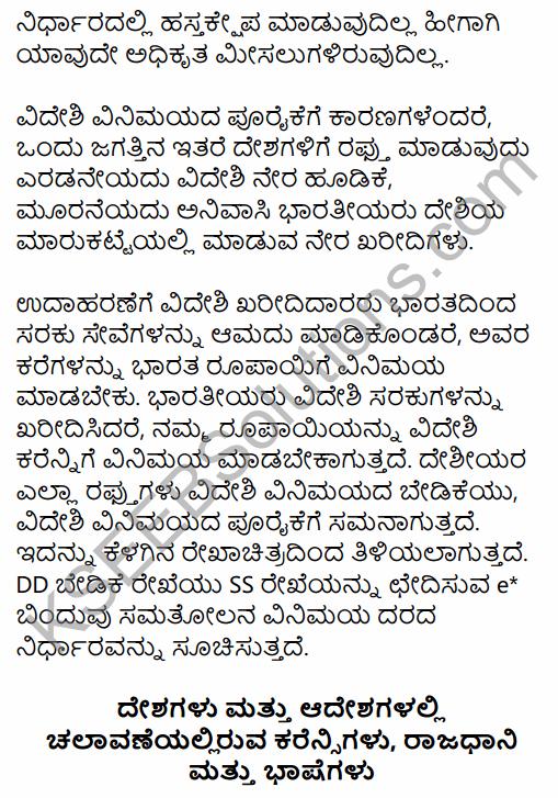 2nd PUC Economics Question Bank Chapter 12 Open Economy Macroeconomics in Kannada 40