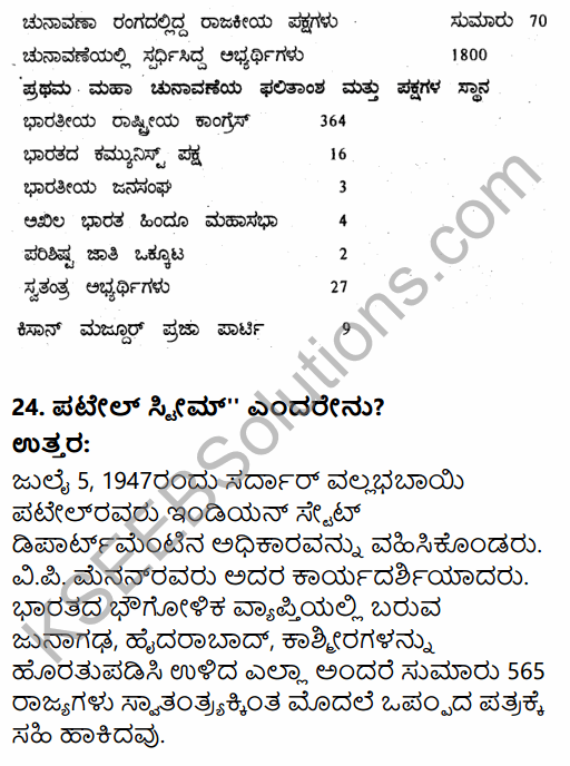 2nd PUC Political Science Previous Year Question Paper March 2015 in Kannada 9