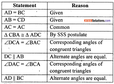 KSEEB Solutions for Class 8 Maths Chapter 15 Quadrilaterals Additional Questions 23