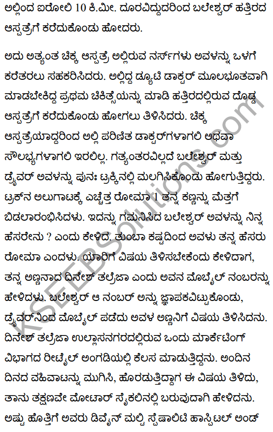 There's a Girl by the Tracks! Summanry in Kannada 5