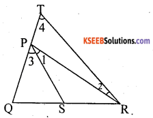 KSEEB Solutions for Class 10 Maths Chapter 2 Triangles Ex 2.6 2