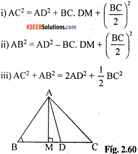 KSEEB Solutions for Class 10 Maths Chapter 2 Triangles Ex 2.6 9