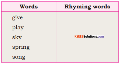 KSEEB Solutions for Class 6 English Poem Chapter 3 Kindness to Animals 1