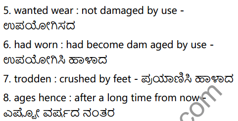 The Road not taken Summary in Kannada 3
