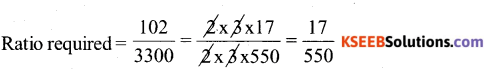 KSEEB Solutions for Class 6 Maths Chapter 12 Ratio and Proportion Ex 12.1 61