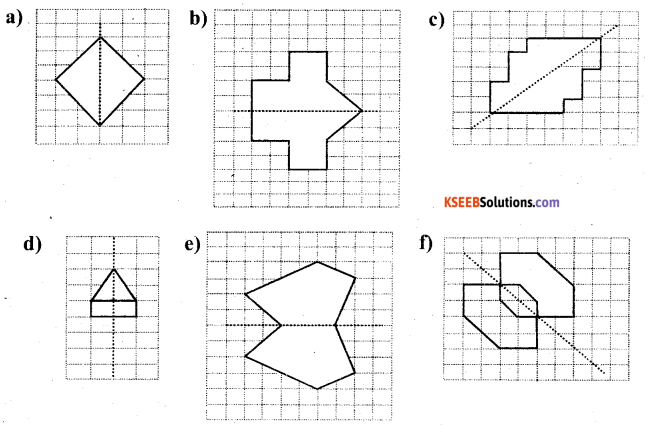 KSEEB Solutions for Class 6 Maths Chapter 13 Symmetry Ex 13.1 51
