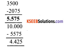 KSEEB Solutions for Class 6 Maths Chapter 8 Decimals Ex 8.6 14