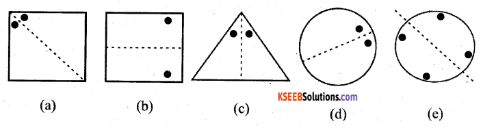 KSEEB Solutions for Class 7 Maths Chapter 14 Symmetry Ex 14.1 5