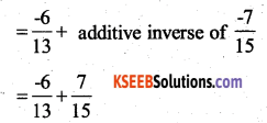 KSEEB Solutions for Class 7 Maths Chapter 9 Rational Numbers Ex 9.2 23