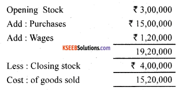 1st PUC Accountancy Previous Year Question Paper March 2019 (North) image - 5