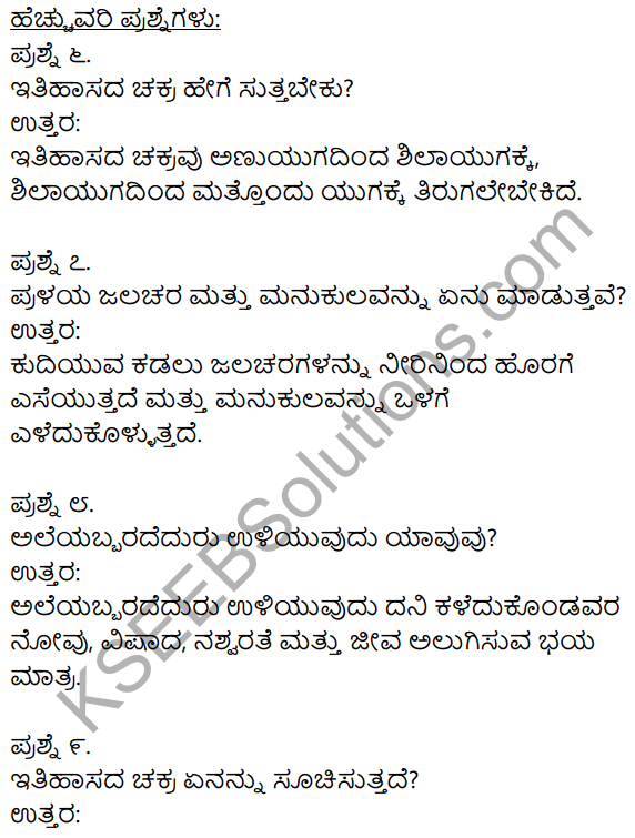 1st PUC Kannada Textbook Answers Sahitya Sanchalana Chapter 12 Sunamiya Hadu 8