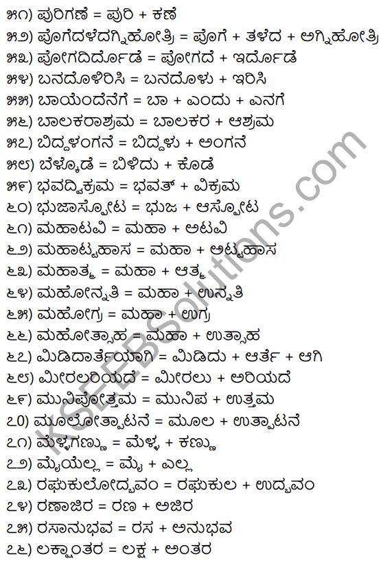 1st PUC Kannada Workbook Answers Bidisi Bareyiri 3