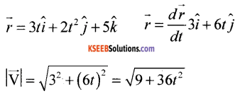 1st PUC Physics Model Question Paper 2 with Answers image - 1
