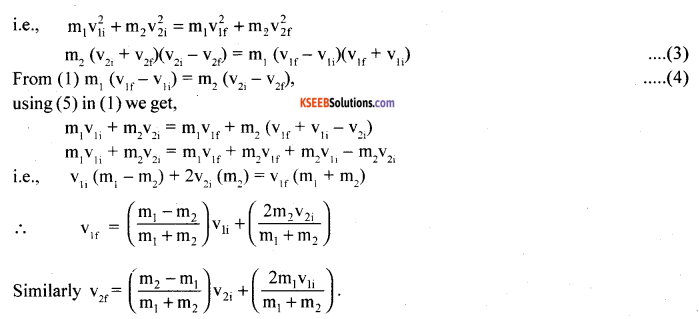 1st PUC Physics Model Question Paper 3 with Answers image - 8