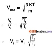 1st PUC Physics Question Bank Chapter 13 Kinetic Theory img 6