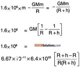 1st PUC Physics Question Bank Chapter 8 Gravitation img 19
