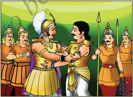 KSEEB Solutions for Class 7 Hindi Chapter 17 सिकंदर और पुरूरवा 7