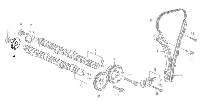 Honda 02-06 RSX Exhaust Cam TDC Pulse Plate: K Series Parts