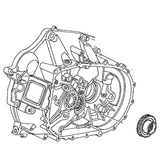 K Series Parts: Change to Acura TSX 5th and 6th Gear