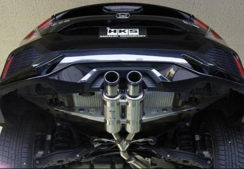 hks 17 20 civic hatchback 1 5l hi power spec l2 exhaust