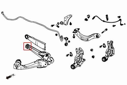 HardRace Rear Lower Arm Bushings (Pillow Ball): K Series Parts
