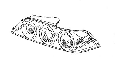 Honda 05-06 RSX Passenger Side Tail Light: K Series Parts