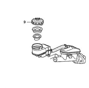 Honda Brake Fluid Reservoir Cap: K Series Parts