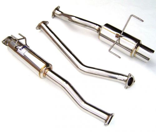 invidia 02 06 rsx type s n1 cat back exhaust system