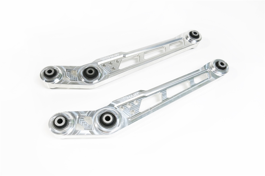 Truhart 96-00 Civic Polished Lower Control Arms (Drop Rear