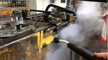 nettoyage vapeur en industrie un moyen