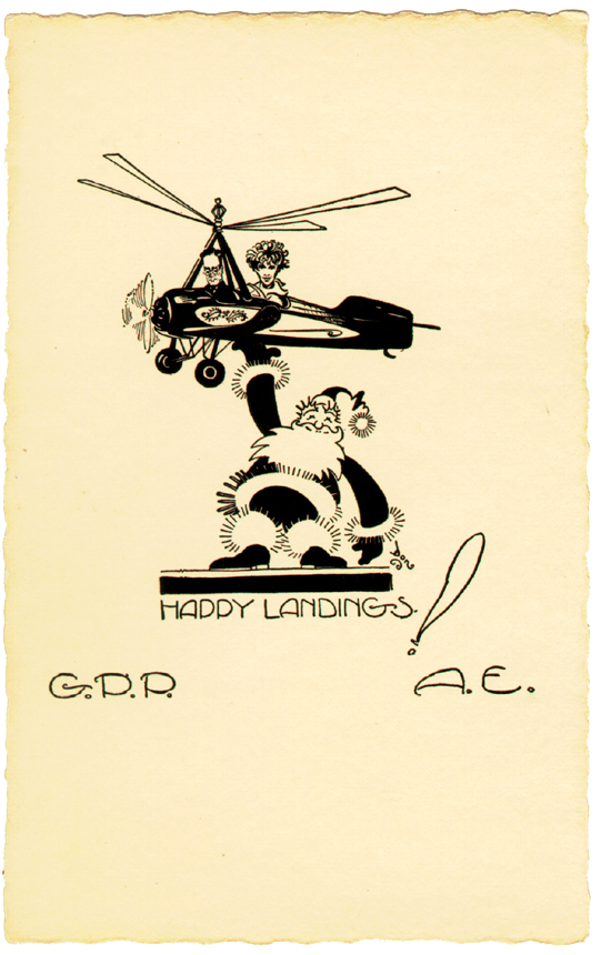 Christmas Cards By Amelia Earhart Kansapedia Kansas