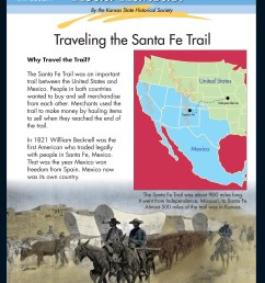 Read Kansas! Intermediate - I-06 Trade and Migration on the Overland Trails  - Kansas Historical Society [ 3300 x 2550 Pixel ]