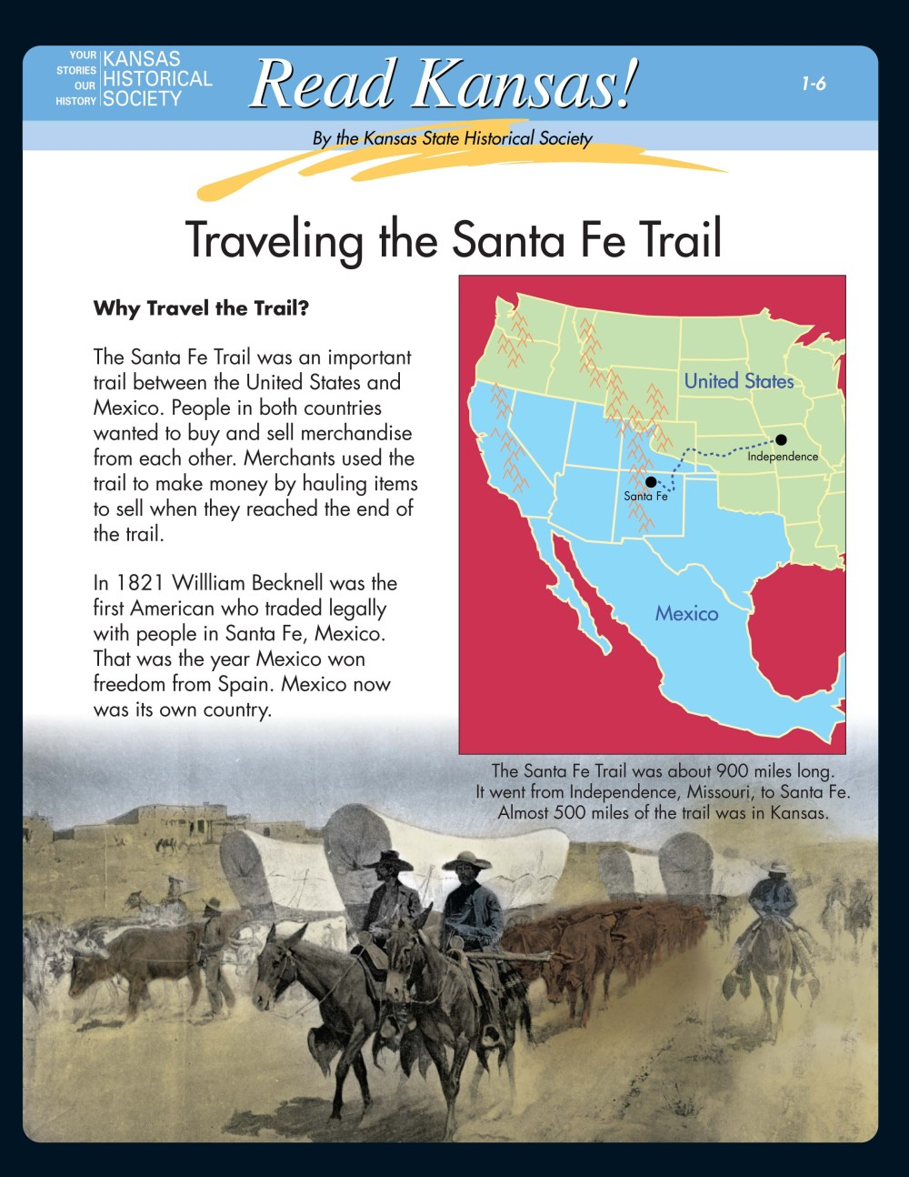 medium resolution of Read Kansas! Intermediate - I-06 Trade and Migration on the Overland Trails  - Kansas Historical Society