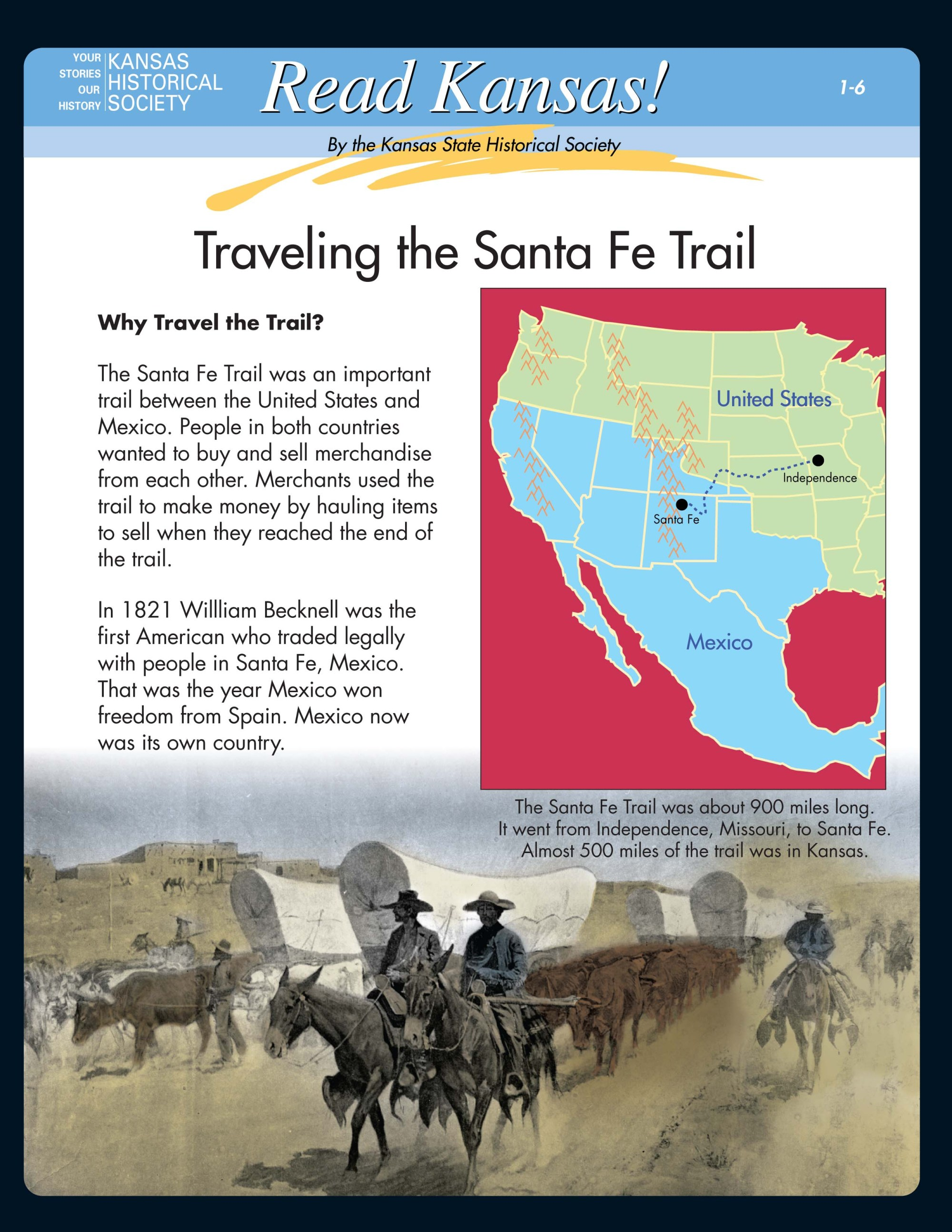 hight resolution of Read Kansas! Intermediate - I-06 Trade and Migration on the Overland Trails  - Kansas Historical Society