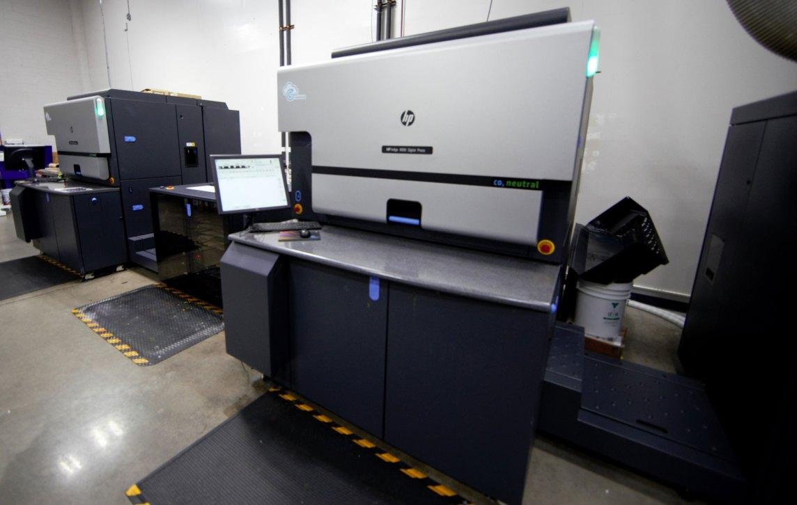 HP digital press