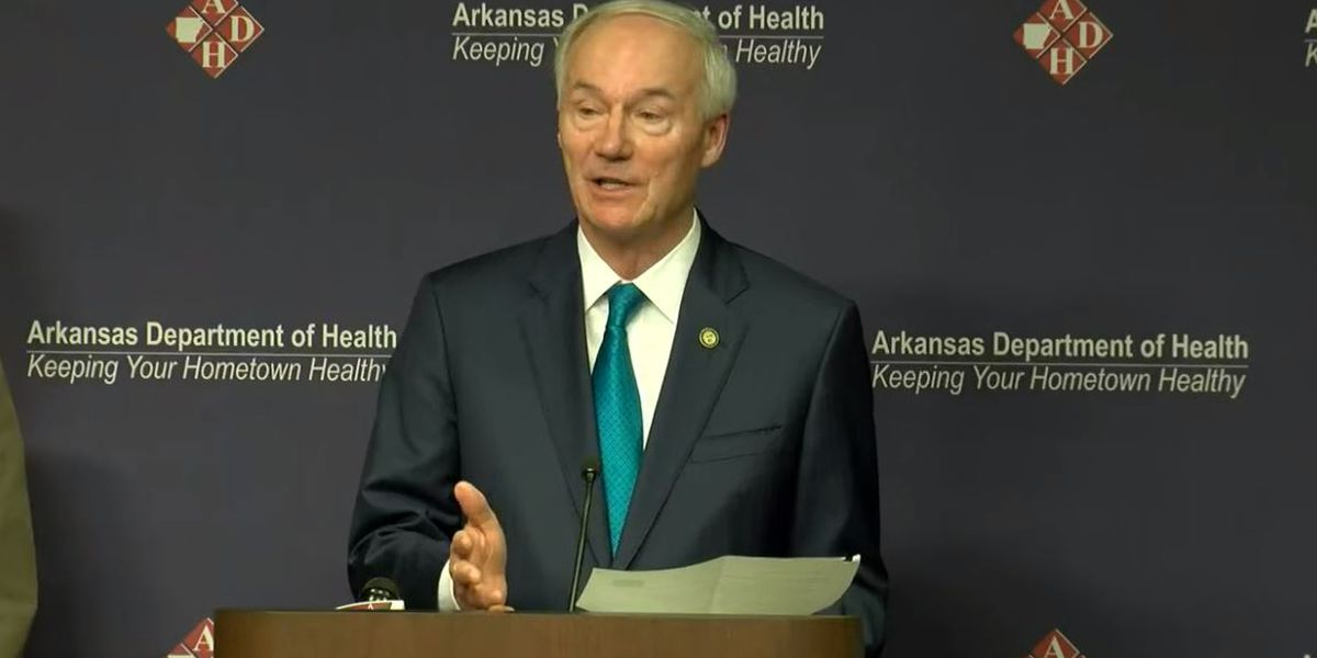 WATCH: Ark. Governor Hutchinson, ADH Secretary Smith coronavirus ...