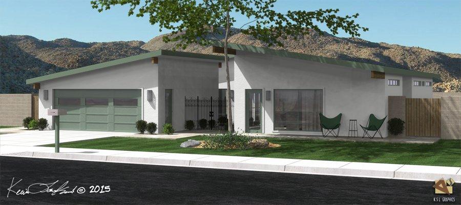 Mid-Century Home No. 7