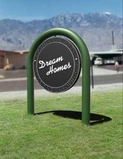 Dream Homes Sign 2