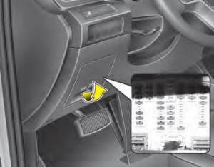 Kia Sorento: Fuserelay panel description  Fuses  Maintenance  Kia Sorento XM Owners Manual