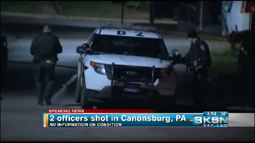 Coroner: 1 of 2 Pennsylvania police officers shot has died
