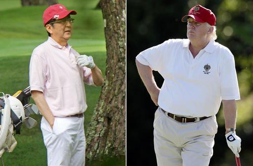 Donald Trump, Shinzo Abe_344618