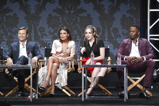 Grant Show, Nathalie Kelley, Elizabeth Gillies, Sam Adegoke_425817