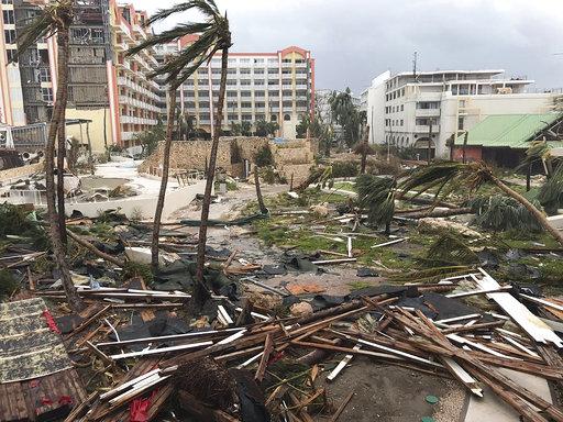 APTOPIX St. Martin Hurricane Irma_443268