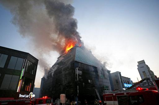 South Korea Deadly Fire_494205