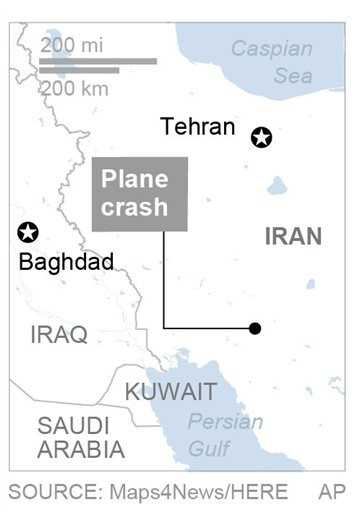 IRAN PLANE CRASH_523145