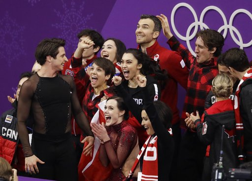 Pyeongchang Olympics Figure Skating Team Event_519096