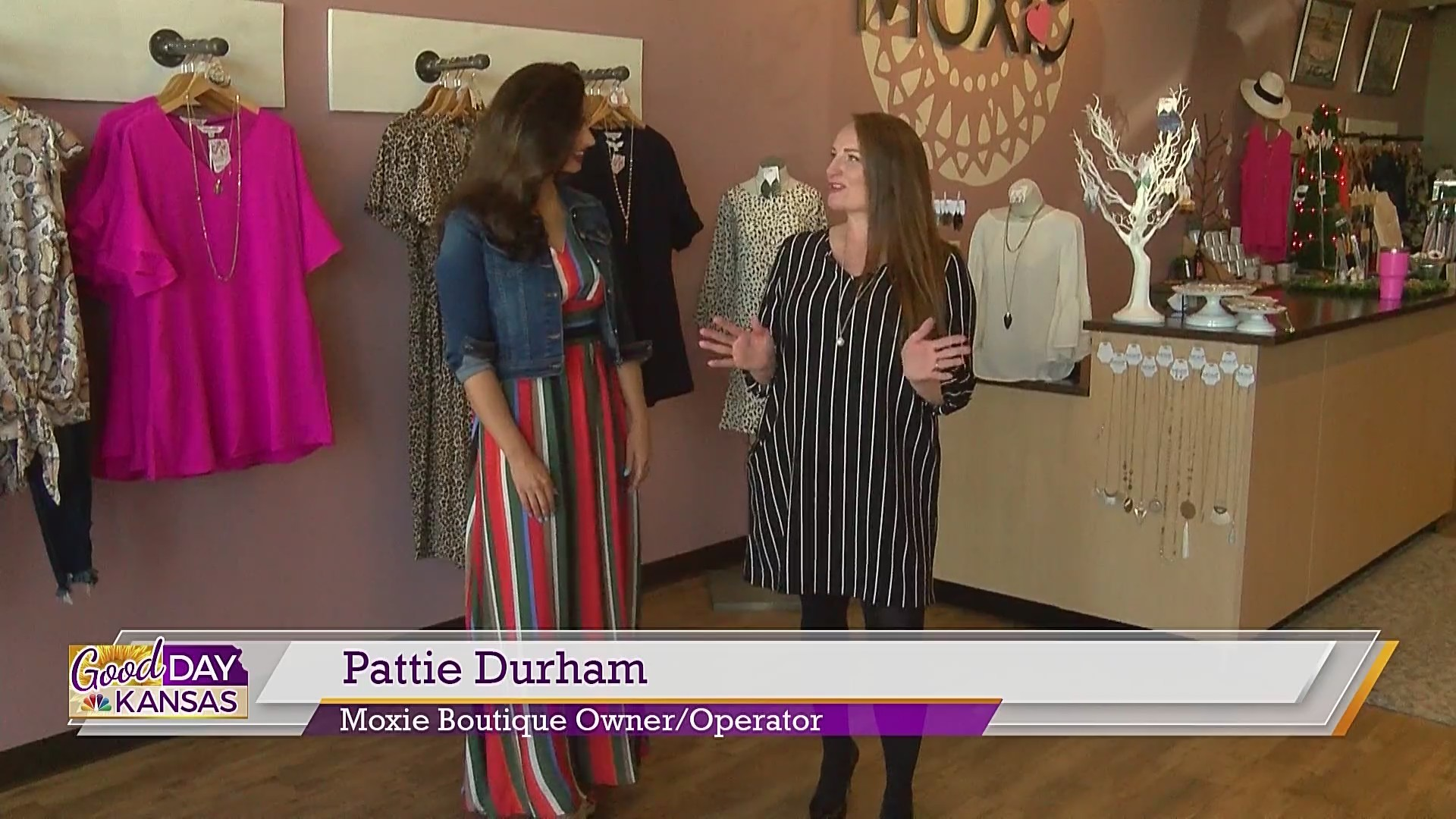 Fashion Friday With Moxie Boutique: Circus Stripes