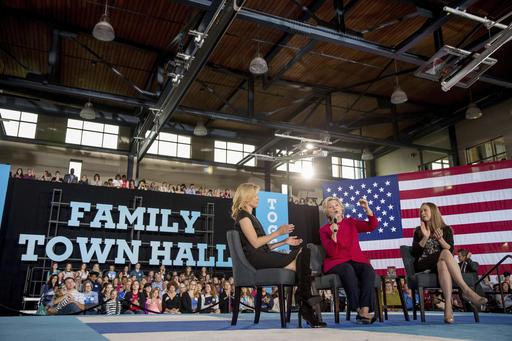 Hillary Clinton, Chelsea Clinton, Elizabeth Banks_225062
