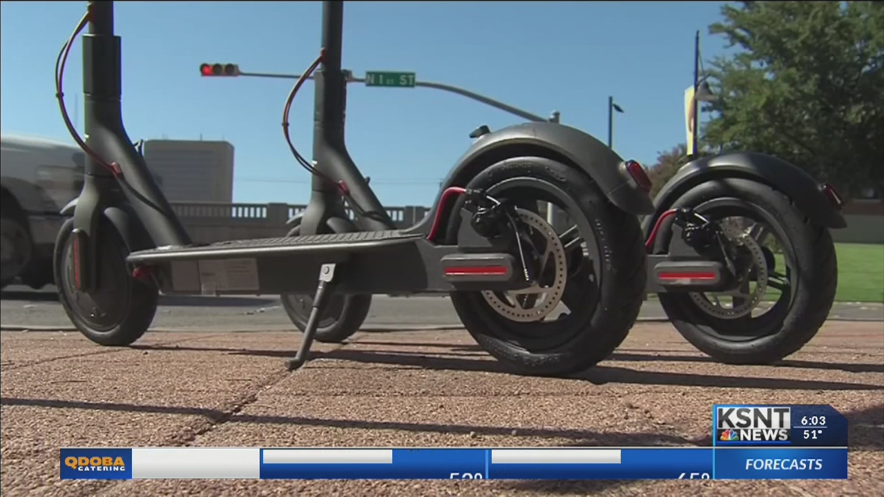 Electric scooters could soon be hitting Topeka streets