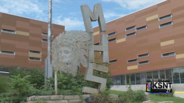 Manhattan High School sign